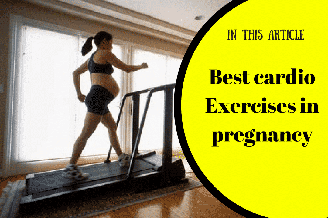 Best cardio Exercises in pregnancy