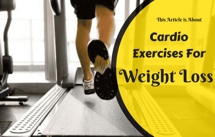 Cardio Exercise for Weight loss