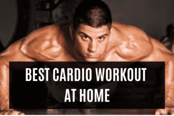 BEST CARDIO WORKOUT AT HOME